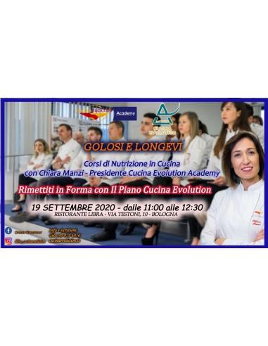 """19/09- """"Golosi e Longevi"""" - Corso di..."""