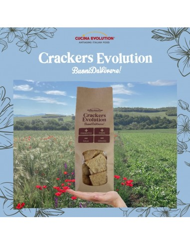 CRACKERS EVOLUTION CON ROSMARINO DA...