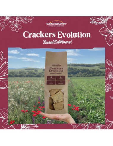 CRACKERS EVOLUTION CON SESAMO E SEMI...