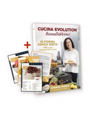 """Libro """"Cucina Evolution"""" + Cofanetto..."""