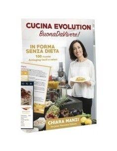 """Libro di Cucina Evoltution """"BuonaDaVivere"""" senza cofanetto 100 ricette"""