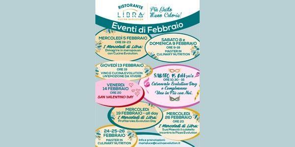 Calendario Eventi Febbraio 2020